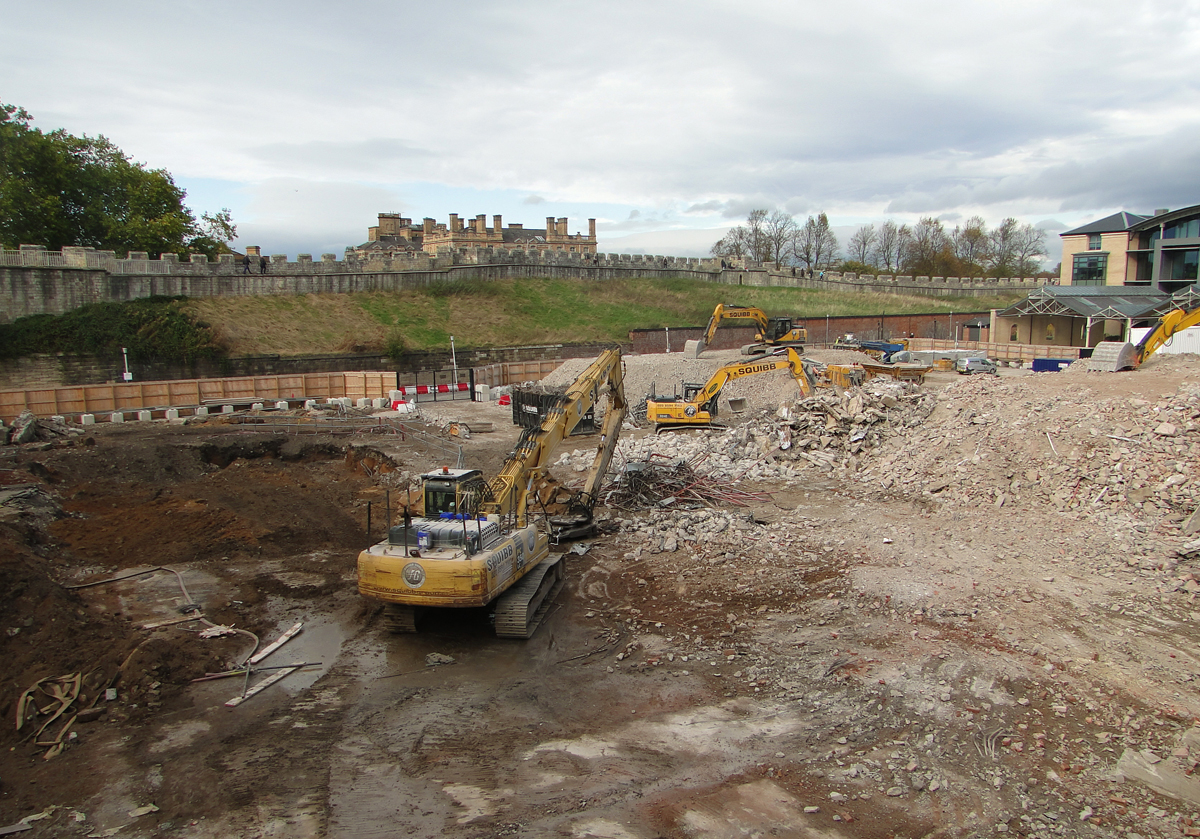 Demolition completed as Hudson Quarter York development launched