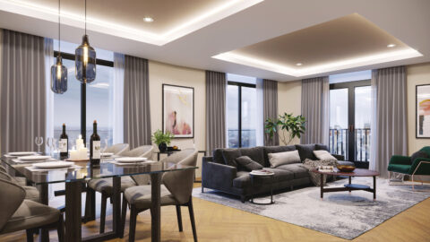 Impressive apartment sales following launch at Hudson Quarter
